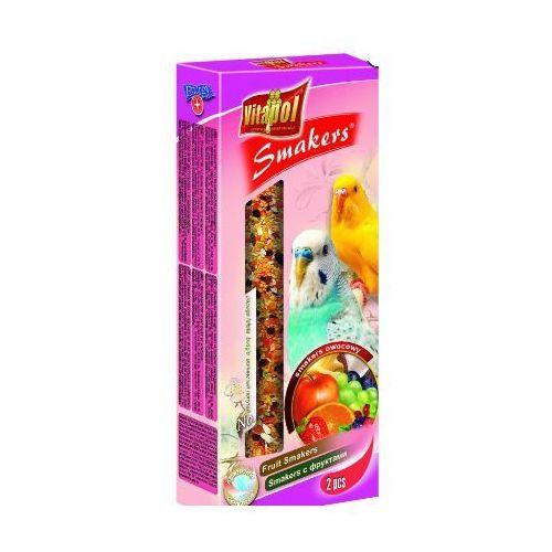 Smakers Kolby owocowe dla papużki falistej 2 sztuki, Vitapol