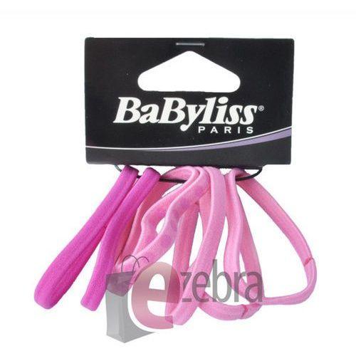 Produkt z kategorii- pozostałe kosmetyki do włosów - BABYLISS ZESTAW GUMEK DO WŁOSÓW FIOLETOWE 31596E - 31596E