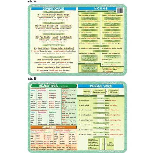 Język angielski - podkładka edukacyjna nr 041 - oferta [45a0ee0951421367]