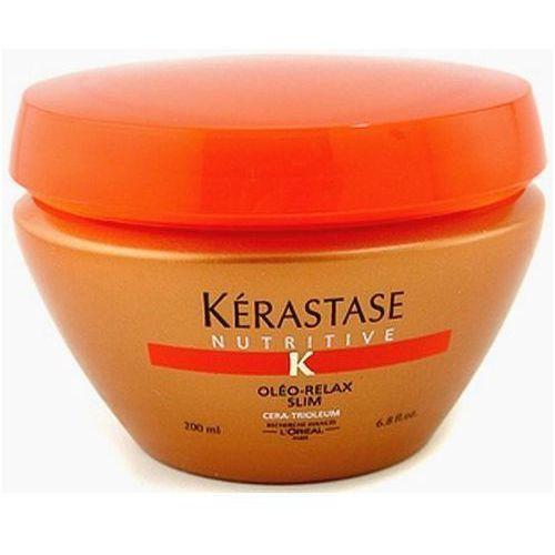 Produkt z kategorii- odżywki do włosów - Kerastase Nutritive Oléo Relax Slim Masque 200ml W Odżywka do włosów Do włosów suchych i niepodatnych + Próbka perfum GRATIS + Wysyłka od 6zł!