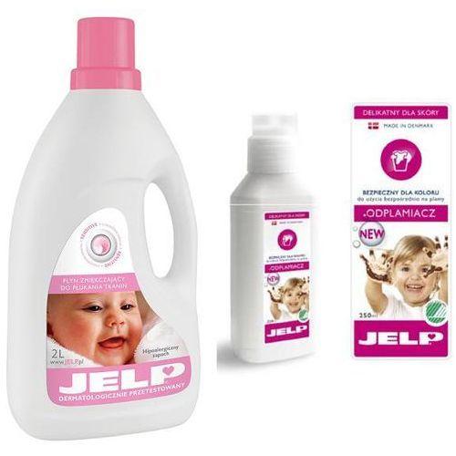 Duopack: JELP płyn do płukania Sensitive 2l + JELP Odplamiacz, Jelp z Bliżej Ciebie