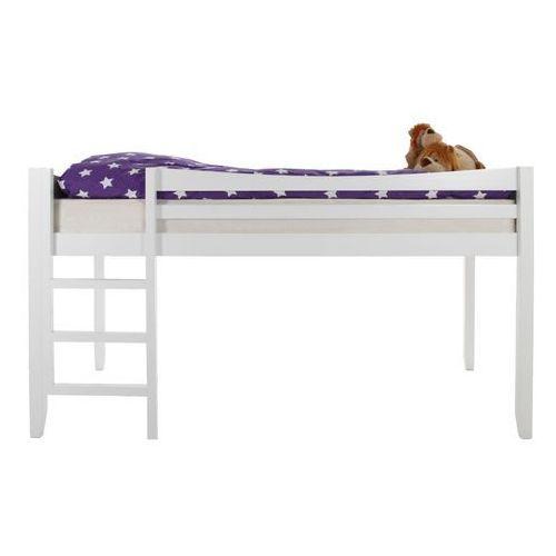 Łóżko piętrowe Buddy, drewno, białe ze sklepu FUTURI Nowoczesne Meble