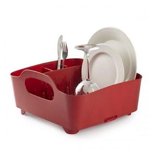 D2 Akcesoria i dodatki Suszarka do naczyń Tub czerwona - Tub_suszarka_czerwon - produkt z kategorii- suszarki do naczyń