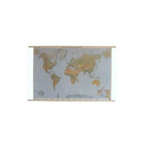 Świat mapa ścienna fizyczna 1:35 000 000  & Berndt, produkt marki Freytag