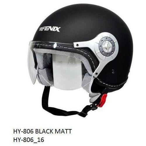 KASK OPEN FACE FENIX HY806F CZARNY S, marki Fenix do zakupu w StrefaMotocykli.com