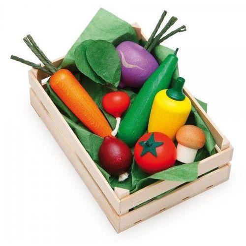 Akcesoria do zabawy w gotowanie Erzi - Warzywa w skrzynce ER28110 oferta ze sklepu tublu.pl