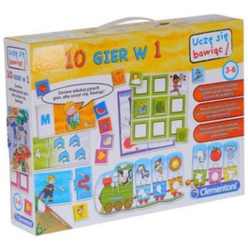 Zestaw edukacyjny 10 gier w 1 - Dostawa zamówienia do jednej ze 170 księgarni Matras za DARMO - oferta [15a9e200b172831d]