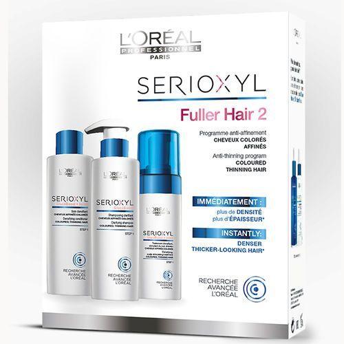 LOREAL SERIOXYL ZESTAW 2 - GĘSTSZE WŁOSY Włosy Koloryzowane - szczegóły w e-stylshop