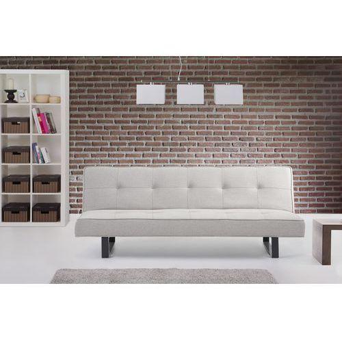 Luksusowa sofa kanapa DERBY bialoszary, Beliani