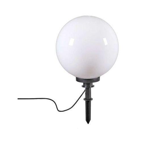 Lampa zewnętrzna kula 40 z klinem ziemnym