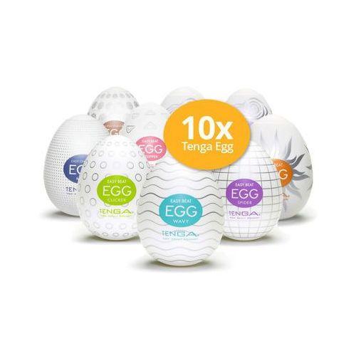 Zestaw 10 dowolnie wybranych masturbatorów Tenga Egg w niższej cenie - oferta [f51eda47e31f4234]