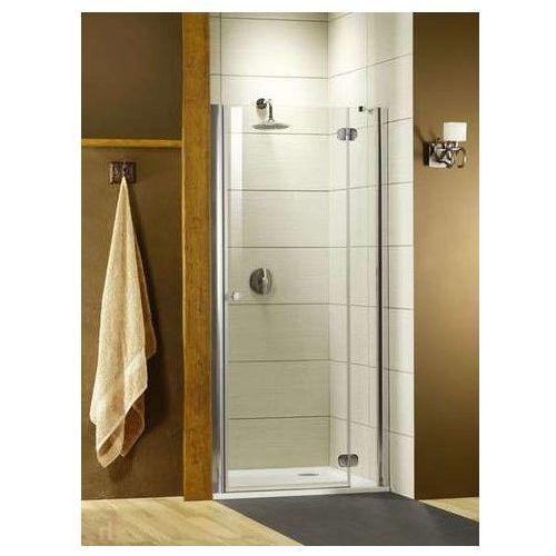 Torrenta DWJ Radaway drzwi wnękowe 900-915x1850 grafitowe prawe - 32000-01-05 (drzwi prysznicowe)