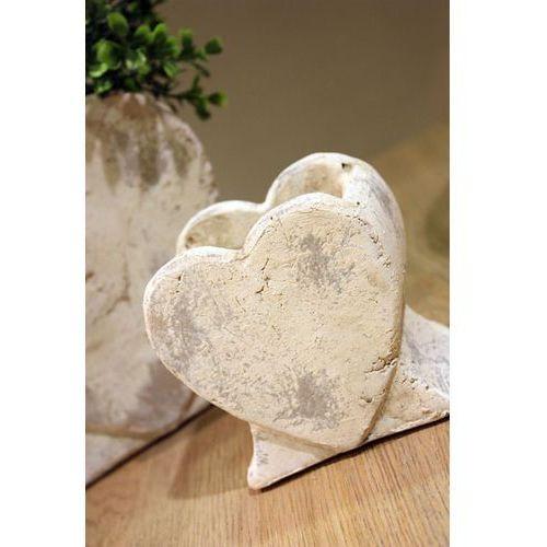 Produkt Donica osłonka Heart M, marki Kolekcja Belldeco
