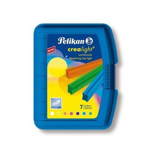 Oferta Plastelina Crealight Pelikan - 7 kolorów - opakowanie niebieskie [05314f77476554d2]