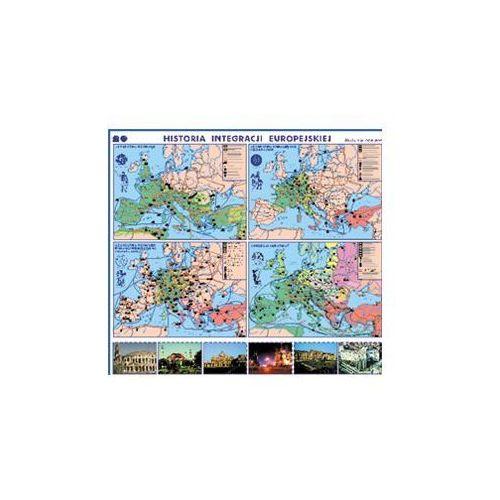 Historia integracji europejskiej. Mapa ścienna. , produkt marki Nowa Era