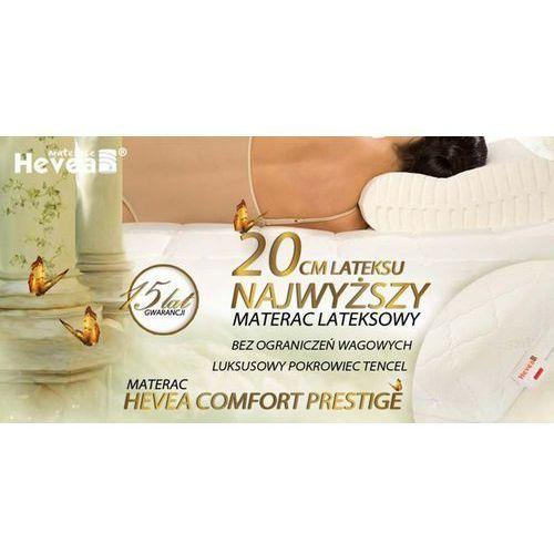 Materac lateksowy Comfort Prestige 90/200 7 STREF od DecoStreet
