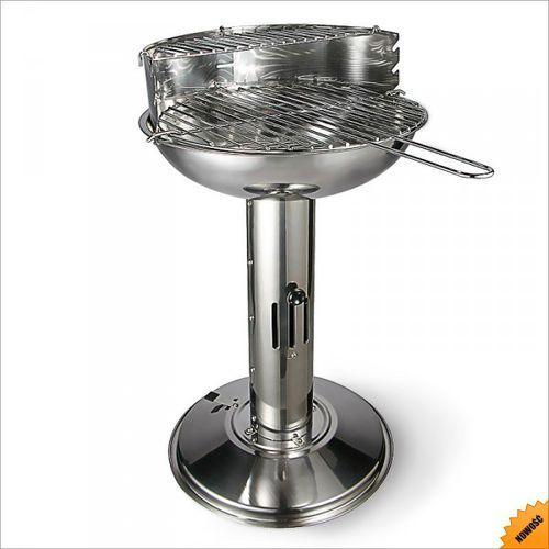 Stalowy Grill kolumnowy 39x52x68 cm, produkt marki Rosco