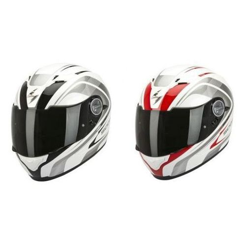 SCORPION KASK Integralny EXO-500 AIR FOCUS PEARL WH-BK, WH-RED XS - XXXL, Scorpion
