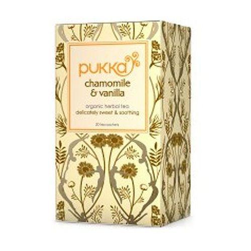 Herbata organiczna rumiankowo-waniliowa, Pukka (pacynka, kukiełka)