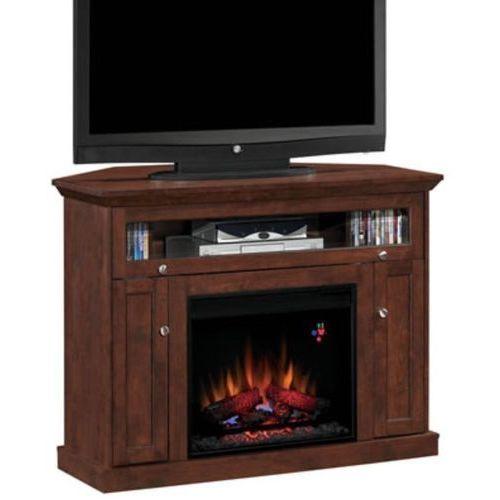 82839533 Kominek elektryczny z szafką RTV Classic Flame Windsor (kolor: wiśnia) - oferta [d5d9d3a05fe313d5]