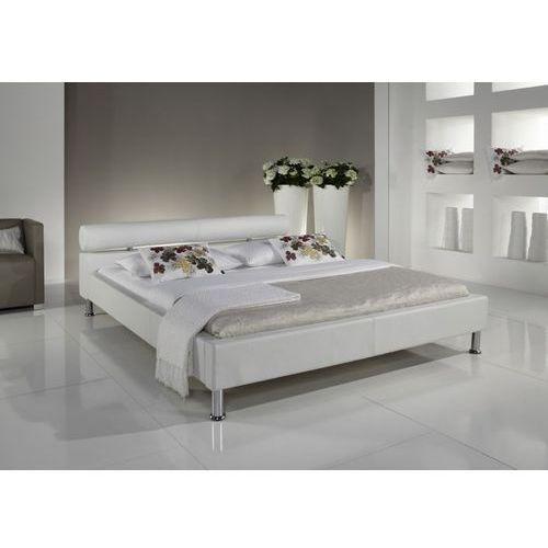 Eleganckie łóżko ANGEL w kolorze białym - 140 x 200 cm ze sklepu Meble Pumo