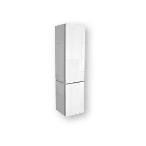 Słupek łazienkowy VARIUS 36,5x152,2x36,2cm z koszem na bieliznę biały połysk 88116000 Koło - produkt z k
