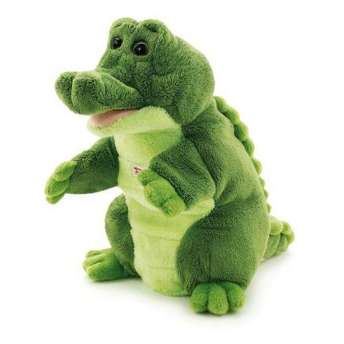 Pluszowa pacynka na rękę, przytulanka, Krokodyl Mil, 29918-Trudi, zabawa w teatrzyk (pacynka, kukiełka)