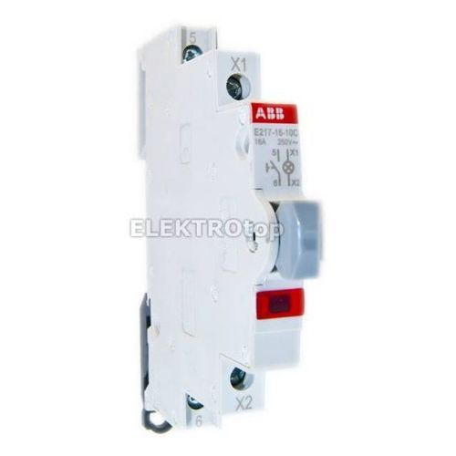 E217-16-10C Przycisk podświetlany czerwony 16A 1NO 250VAC LED 115 ... 230VAC z kategorii oświetlenie