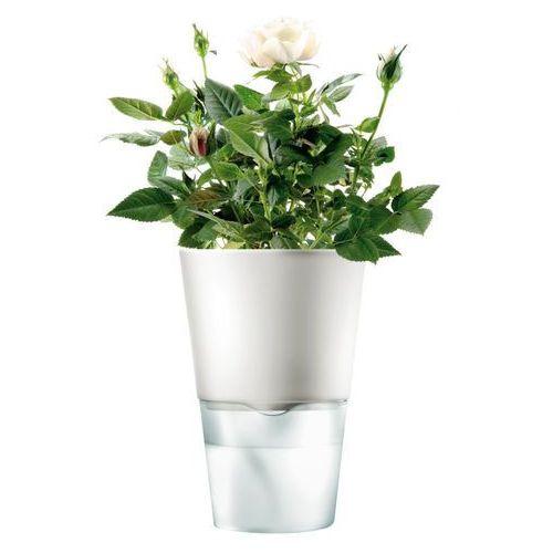 - Samopodlewająca doniczka - biała - 11 cm, produkt marki Eva Solo