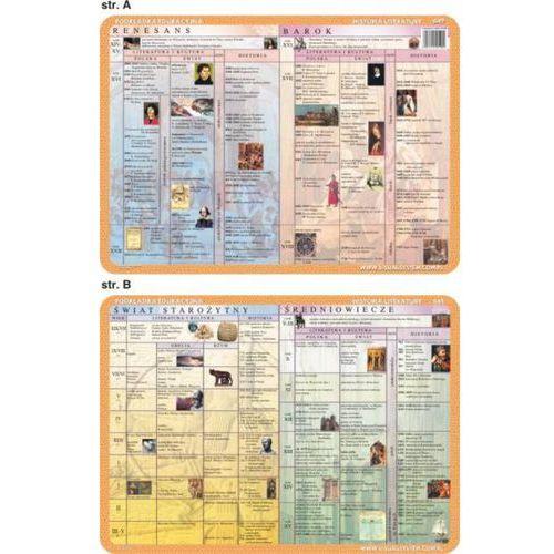 Historia Literatury - podkładka edukacyjna nr 049 - oferta [350ce00151121357]