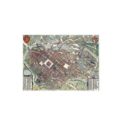 Plan widokowy Wrocławia z 1587 r., G. Braun i F. Hogenberg, 1572-1617 r., produkt marki Golden Maps Publishing
