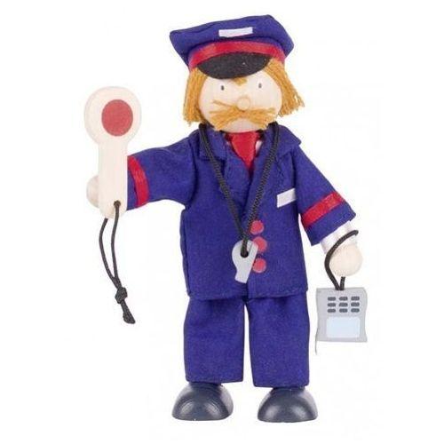 Pacynka konduktor - zabawki dla dzieci (pacynka, kukiełka)