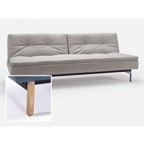 Sofa Dublexo beżowa 527 nogi jasne drewno Stem  741050527-741041-1-2, INNOVATION iStyle