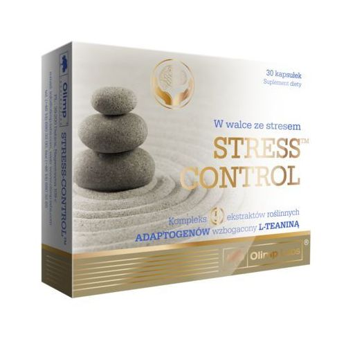 Olimp Stress Control kaps. - 30 kaps., postać leku: kapsułki
