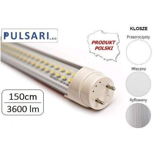 Świetlówka liniowa 150 cm PULSARI LED T8 G13 30W PREMIUM MAX ze sklepu sklep.BestLighting.pl Oświetlenie LED