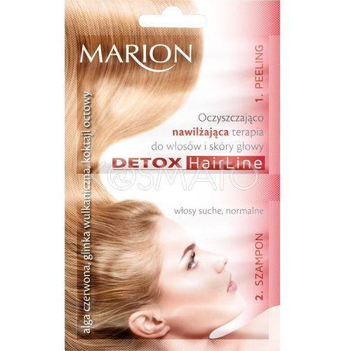 Produkt z kategorii- pozostałe kosmetyki do włosów - Marion Oczyszczająco-nawilżająca terapia, 23 ml