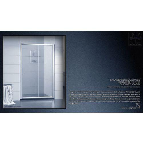 DRZWI PRYSZNICOWE AXISS GLASS AN6121D 1400mm (drzwi prysznicowe)