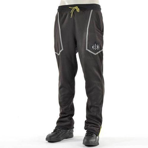 spodnie dresowe K1X - Core Sweatpants Mk3 Black/Volt (0250) rozmiar: M - produkt z kategorii- spodnie męskie
