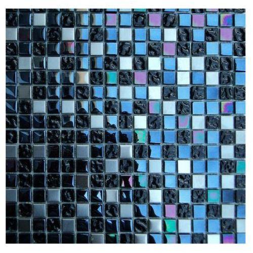 HALCON CM-001 - Mozaika ścienna szklana Cristal Metal 30x30 cm. (glazura i terakota)