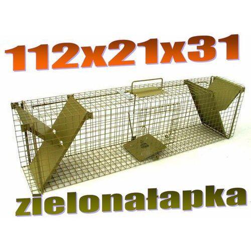 Pułapka dwuwejściowa na kuny, tchórze, szczury, norki, młode wydry ZL K2PR od Mediasklep24
