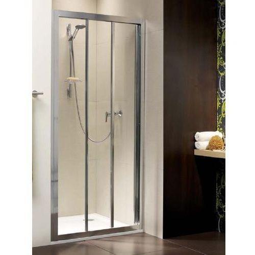 TREVISO DW 80 Radaway drzwi wnękowe przejrzyste 800x1900 - 32313-01-01N (drzwi prysznicowe)