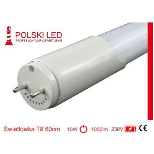 Świetlówka T8 60cm PolLED 10W 4000k ze sklepu Polski LED   Profesjonalne Oświetlenie
