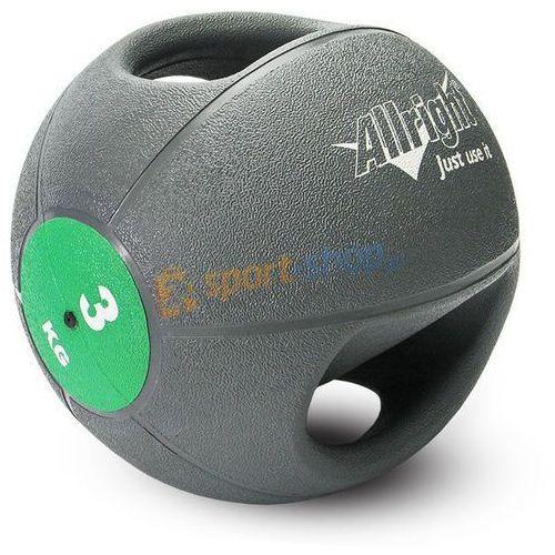 Piłka lekarska z uchwytami  3kg, produkt marki Allright
