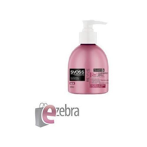 Produkt z kategorii- pozostałe kosmetyki do włosów - SCHWARZKOPF SYOSS SUPREME REVIVE FLUID 3W1 DO WŁOSÓW FARBOWANYCH I Z PASEMKAMI