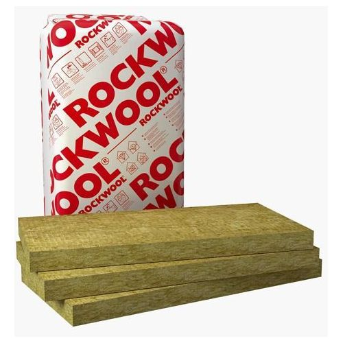 Wełna mineralna Rockwool Rockmin Plus 12cm - Wełna mineralna Rockwool Rockmin 12cm (izolacja i ocieplenie)