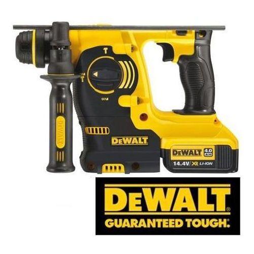 Produkt DeWALT Akumulatorowa młotowiertarka 14,4V SDS-Plus XR, 2x4,0Ah Li-Ion (DCH143M2-QW)