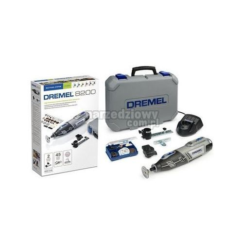 Produkt DREMEL Akumulatorowe narzędzie wielofunkcyjne 8200 + 45 akcesoriów (8200-2/45)