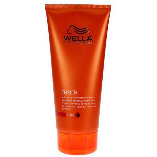 Wella Enrich Moisturising - odżywka nawilżająca do włosów grubych 200ml - produkt z kategorii- odżywki do włosów