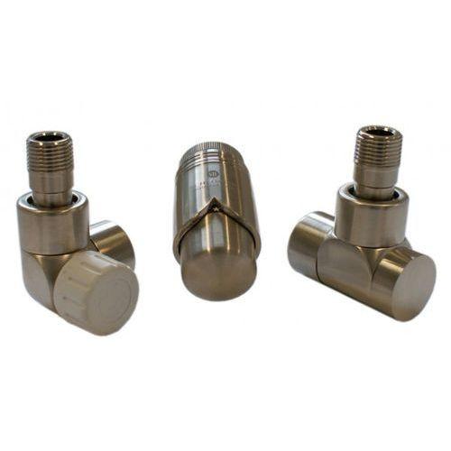 Instal-projekt Grzejnik  603700012 zestawy łazienkowe lux gz ½ x złączka 15x1 cu osiowo lewy stal, kategoria: pozostałe ogrzewanie