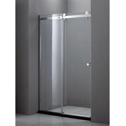 NEW TRENDY DIORA Drzwi prysznicowe 120x190, profile chrom, szkło czyste EXK-1031 * wysyłka gratis (drzwi pry